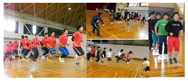 2014体育祭大縄跳び