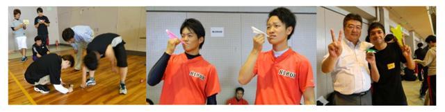 2014体育祭紙ヒコーキ
