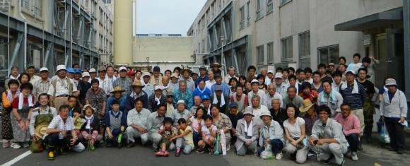 徳定川清掃2015春image001