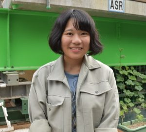 土木工学科4年 津田ひかるさん