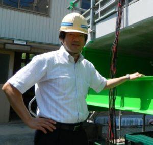 土木工学科 岩城一郎教授