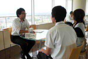 進学アドバイザーが相談に応える入試個別相談コーナー