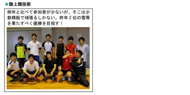 2014体育祭チーム6
