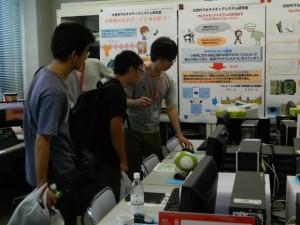 研究室を自由に見学できるオープンラボ