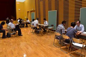 入試、学生生活、就職に関する個別相談コーナー。