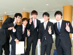 中学時代の友人と再会できて思い切り嬉しい!ここ福島から世界に羽ばたいていきたい。