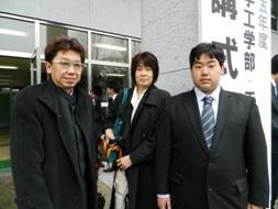 津波の研究に興味を持ち、土木工学科に入学。震災復興に貢献することが目標です!